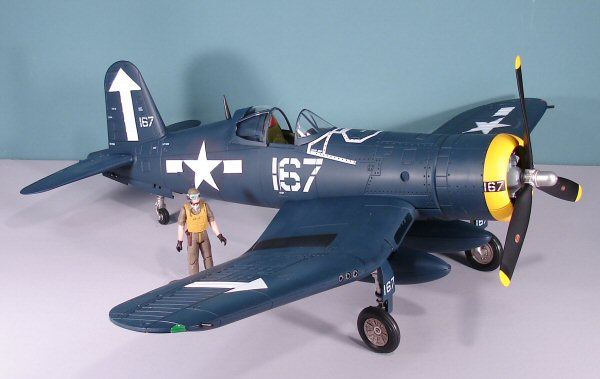 21st Century Toys 1 18 F4u 1a Corsair Kit First Look