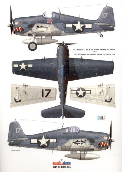 Kag F F D on F4f Wildcat Markings