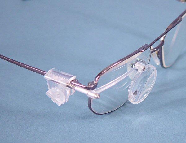 loupe eye glass eyeglasses
