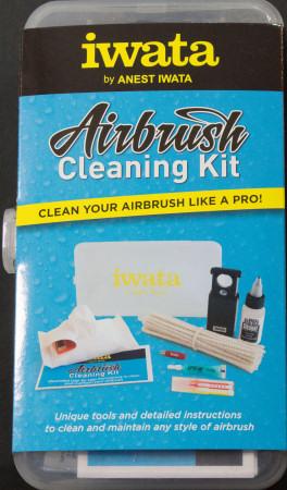 Iwata Airbrush Kit >> Iwata Airbrush Cleaning Kit First Look