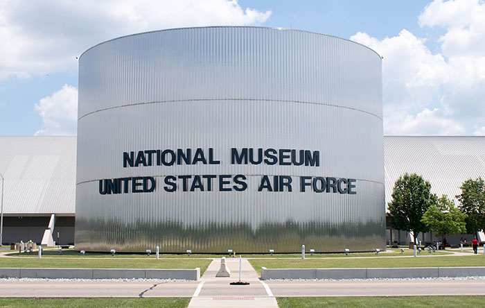 National Museum of the United States Air Force dome shaped building