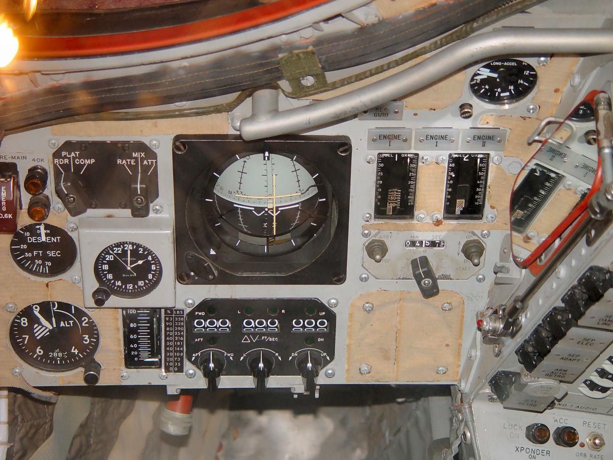 gemini spacecraft cockpit - photo #15