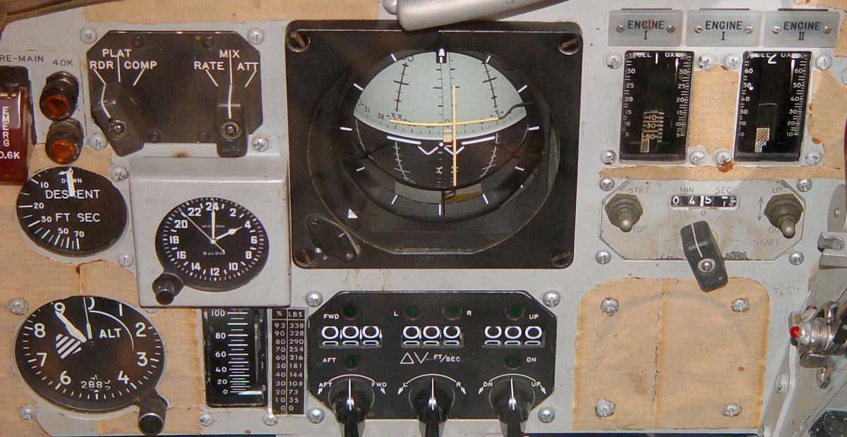 gemini spacecraft cockpit - photo #38